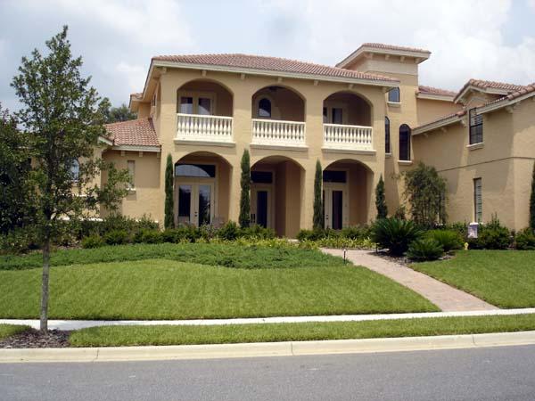 Mediterranean, Southwest House Plan 74230 with 5 Beds, 7 Baths, 3 Car Garage Picture 1