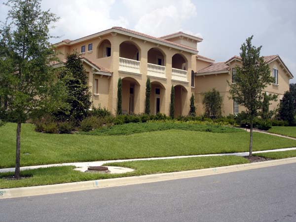 Mediterranean, Southwest House Plan 74230 with 5 Beds, 7 Baths, 3 Car Garage Picture 2