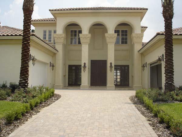 Mediterranean, Southwest House Plan 74243 with 5 Beds, 6 Baths, 4 Car Garage Picture 1