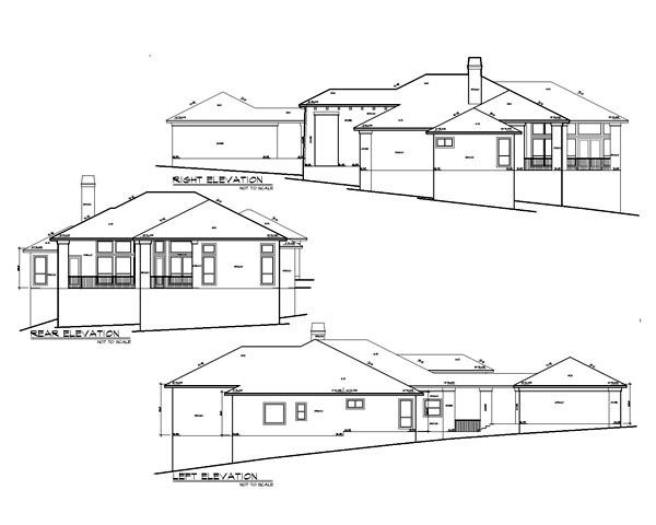 Mediterranean House Plan 74501 with 4 Beds, 4 Baths, 2 Car Garage Picture 1