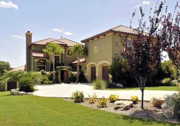 Mediterranean House Plan 74506 with 4 Beds, 5 Baths, 2 Car Garage Elevation