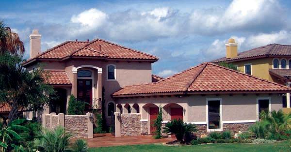 Mediterranean House Plan 74507 with 4 Beds, 4 Baths, 2 Car Garage Elevation