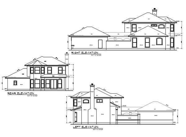 Mediterranean House Plan 74507 with 4 Beds, 4 Baths, 2 Car Garage Picture 1