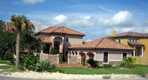 Mediterranean House Plan 74507 with 4 Beds, 4 Baths, 2 Car Garage Picture 3