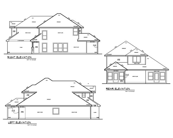 Craftsman House Plan 74526 with 4 Beds, 4 Baths, 3 Car Garage Picture 1