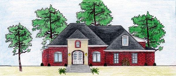 House Plan 74615