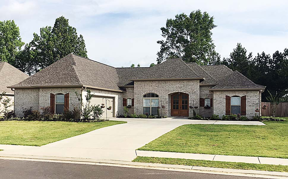 European, French Country House Plan 74646 with 4 Beds, 3 Baths, 2 Car Garage Elevation