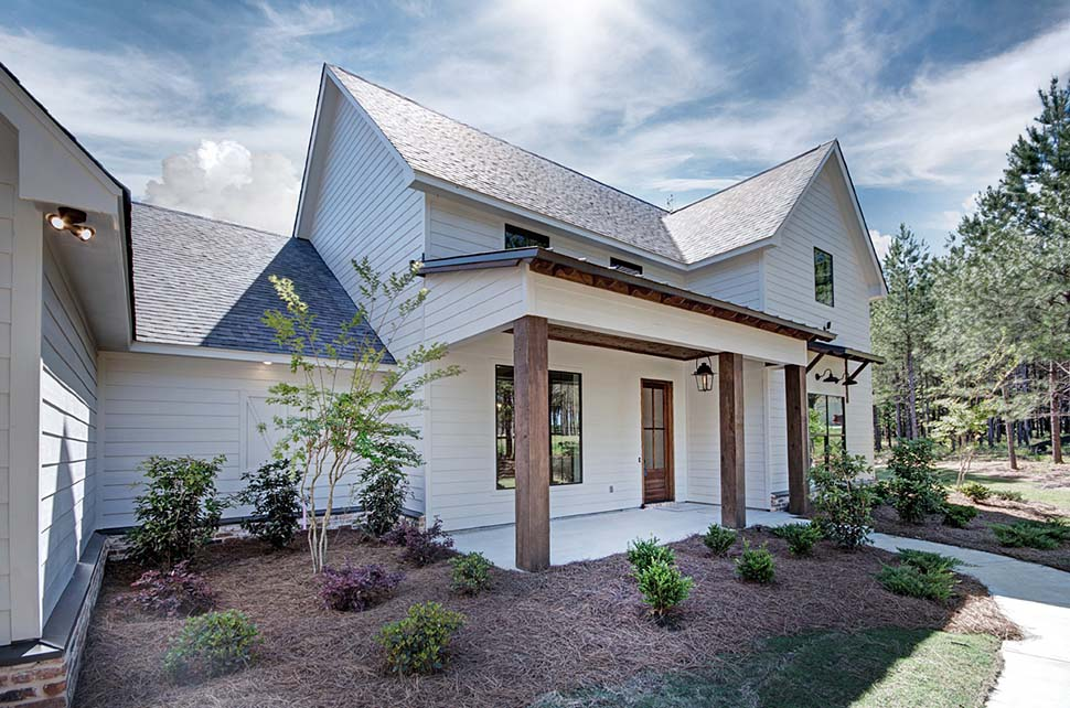 Country, Farmhouse, Traditional House Plan 74647 with 3 Beds, 3 Baths, 3 Car Garage Picture 2