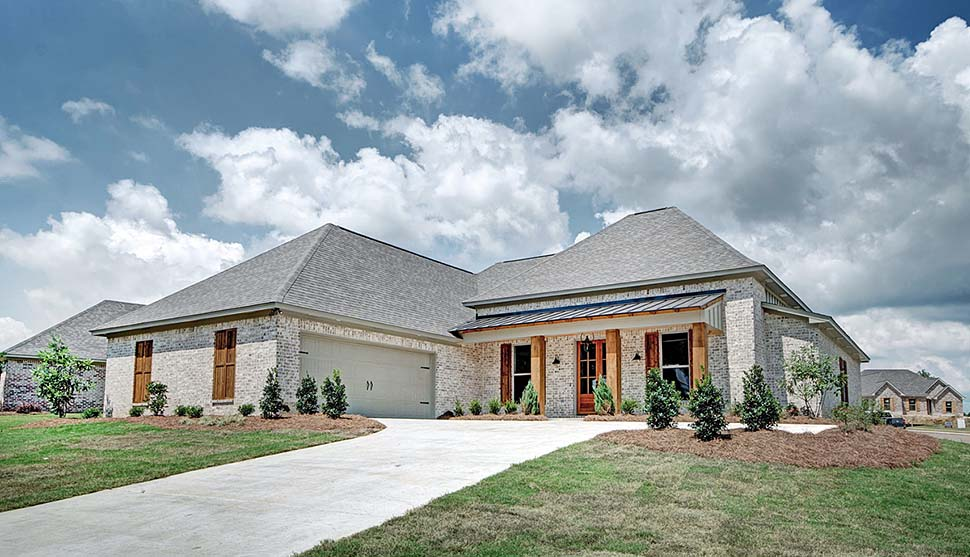European, French Country House Plan 74648 with 4 Beds, 3 Baths, 2 Car Garage Elevation