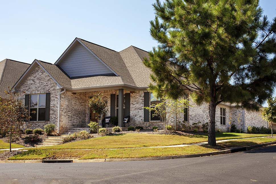 Craftsman, Traditional House Plan 74657 with 3 Beds, 3 Baths, 2 Car Garage Picture 4
