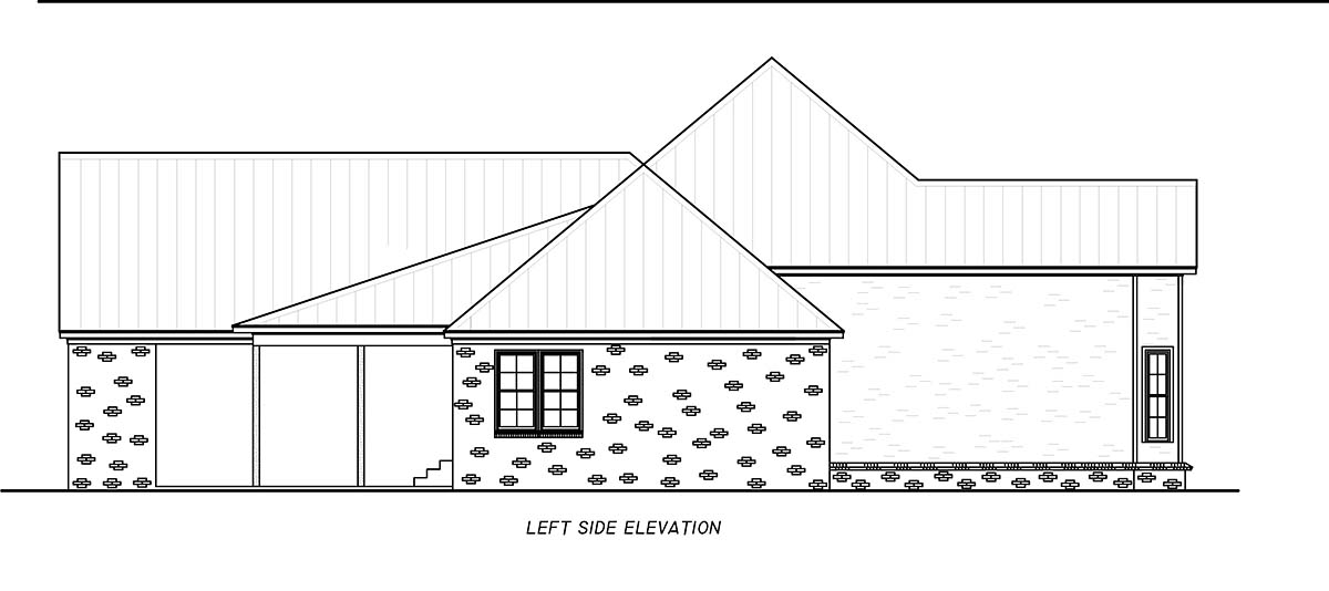 Country, Farmhouse, Traditional House Plan 74667 with 3 Beds, 4 Baths, 2 Car Garage Picture 2