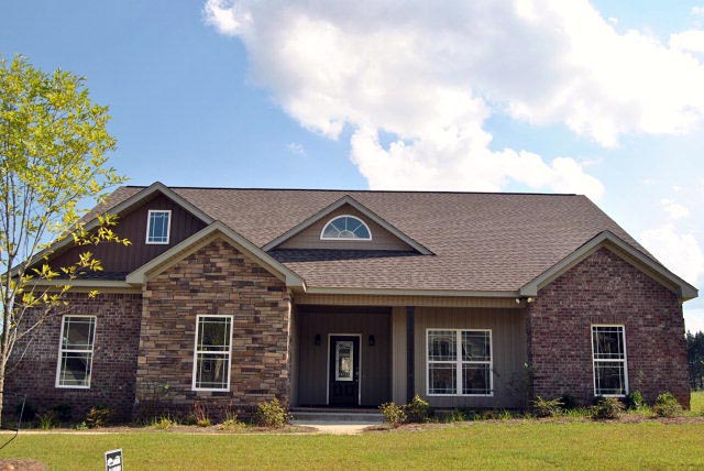 Bungalow, Country, Traditional House Plan 74757 with 3 Beds, 3 Baths, 2 Car Garage Front Elevation