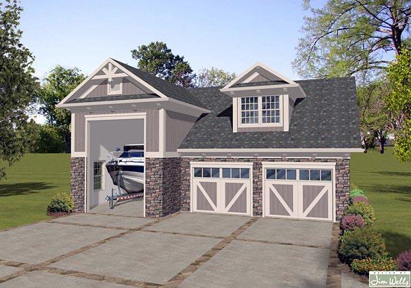 Garage Plan 74838