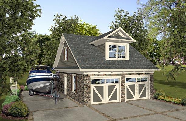 Garage Plan 74839