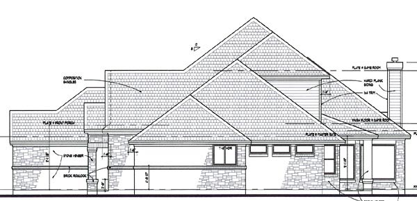 Coastal, Contemporary, Modern House Plan 75109 with 3 Beds, 3 Baths, 3 Car Garage Picture 2