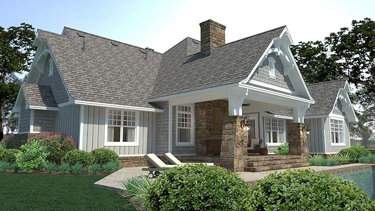 Cottage, Craftsman, European, Farmhouse House Plan 75149 with 3 Beds, 3 Baths, 3 Car Garage Picture 3