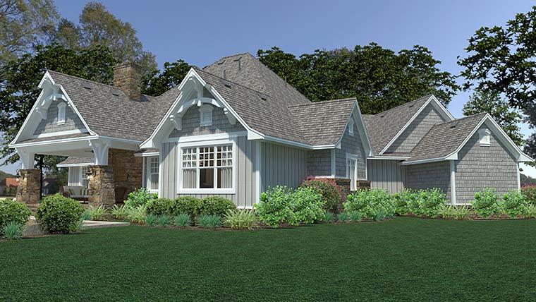 Cottage, Craftsman, European, Farmhouse House Plan 75149 with 3 Beds, 3 Baths, 3 Car Garage Picture 5