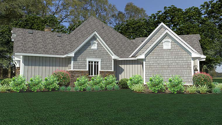 Cottage, Craftsman, European, Farmhouse House Plan 75149 with 3 Beds, 3 Baths, 3 Car Garage Picture 6