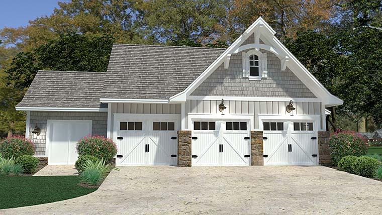 Cottage, Craftsman, European, Farmhouse House Plan 75149 with 3 Beds, 3 Baths, 3 Car Garage Picture 8