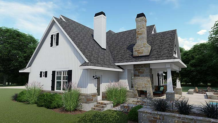 Cottage, Country, Farmhouse, Southern, Traditional House Plan 75152 with 3 Beds, 4 Baths, 2 Car Garage Picture 9