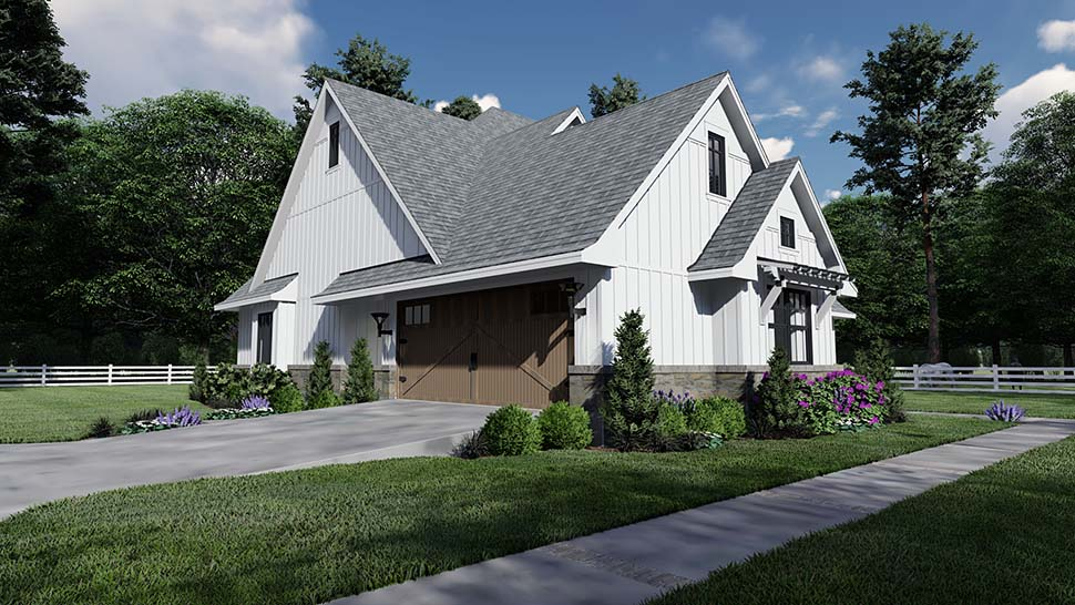 Country, Farmhouse, Southern House Plan 75156 with 4 Beds, 4 Baths, 2 Car Garage Picture 8