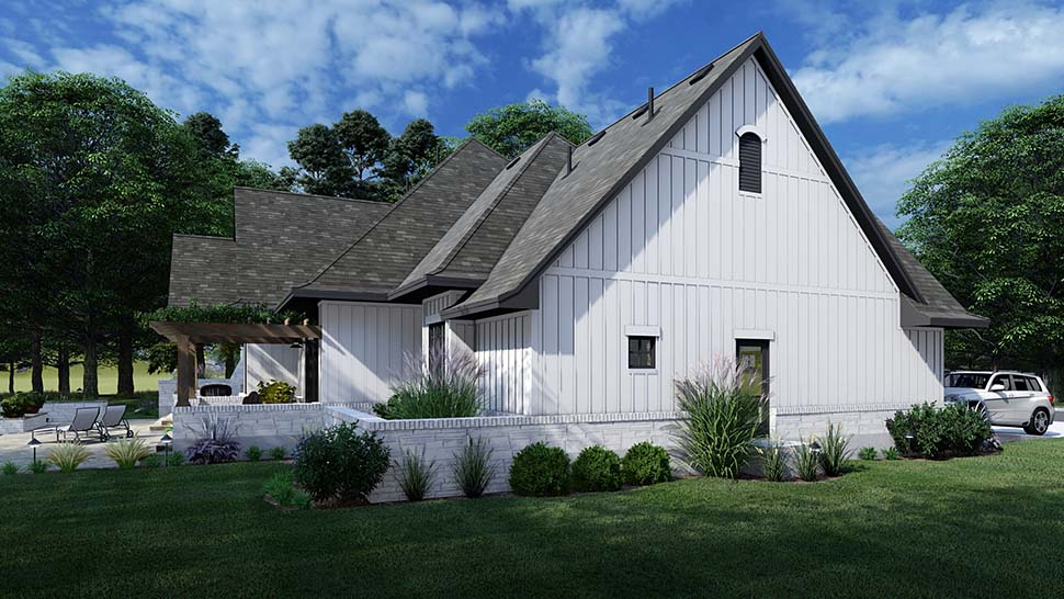 European, Farmhouse, Traditional House Plan 75161 with 4 Beds, 3 Baths, 2 Car Garage Picture 7