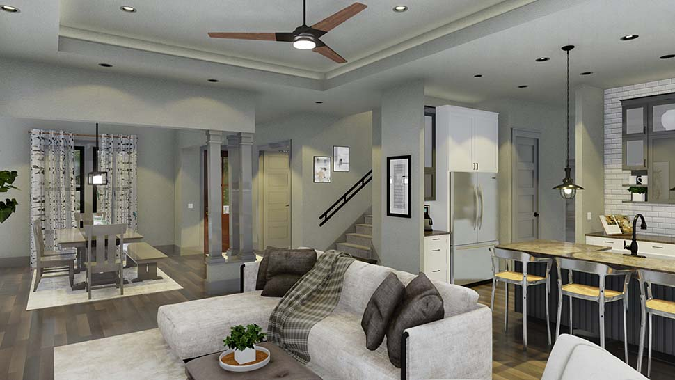 Cottage, Country, Farmhouse House Plan 75163 with 4 Beds, 3 Baths, 2 Car Garage Picture 11