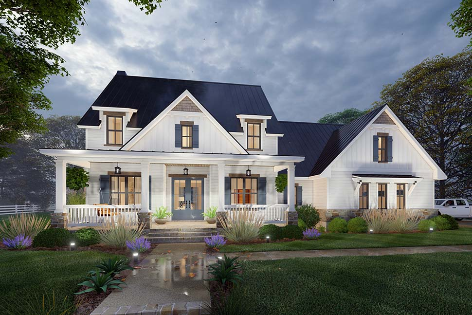 Colonial, Cottage, Farmhouse House Plan 75169 with 3 Beds, 3 Baths, 2 Car Garage Picture 10