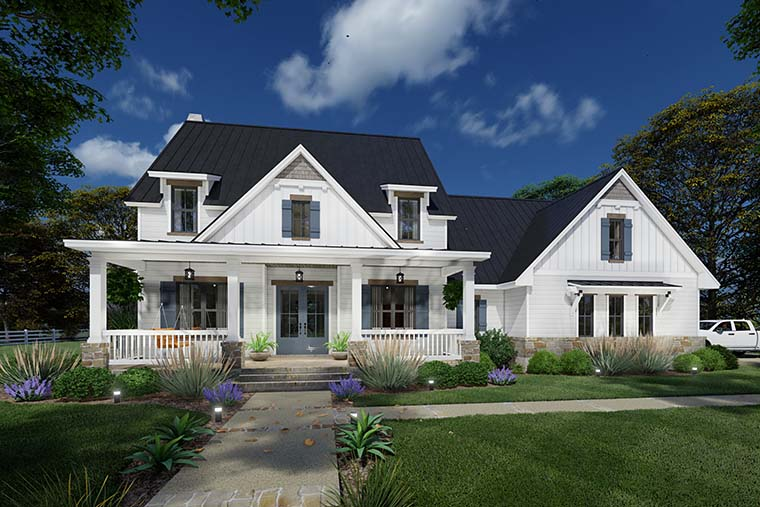 Colonial, Cottage, Farmhouse House Plan 75169 with 3 Beds, 3 Baths, 2 Car Garage Picture 5
