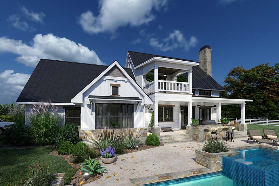 Colonial, Cottage, Farmhouse House Plan 75169 with 3 Beds, 3 Baths, 2 Car Garage Picture 8