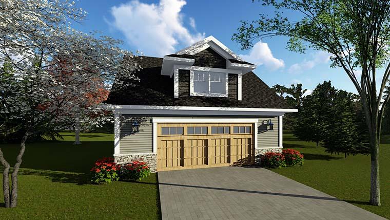 Garage Plan 75251