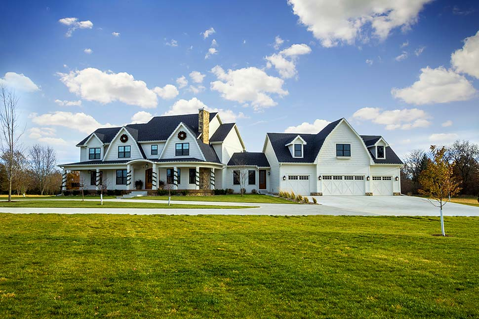 Country, Farmhouse, Southern House Plan 75466 with 5 Beds, 6 Baths, 4 Car Garage Picture 2