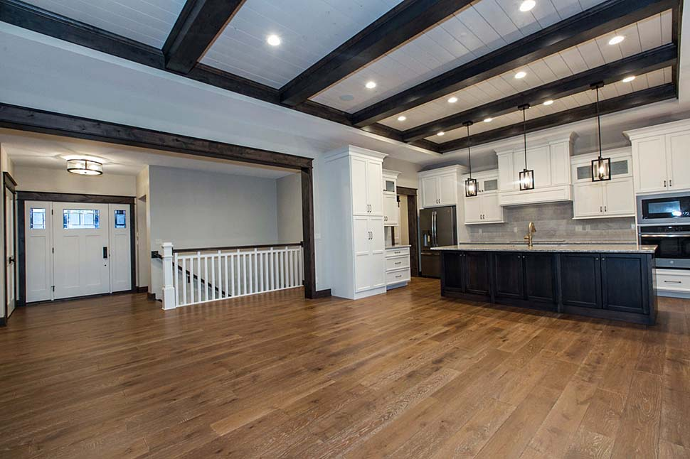 Craftsman, Ranch House Plan 75470 with 4 Beds, 3 Baths, 3 Car Garage Picture 2