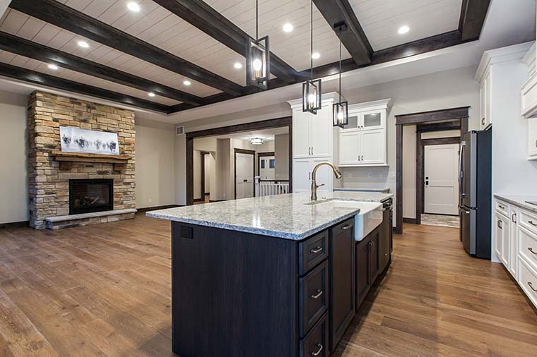 Craftsman, Ranch House Plan 75470 with 4 Beds, 3 Baths, 3 Car Garage Picture 5