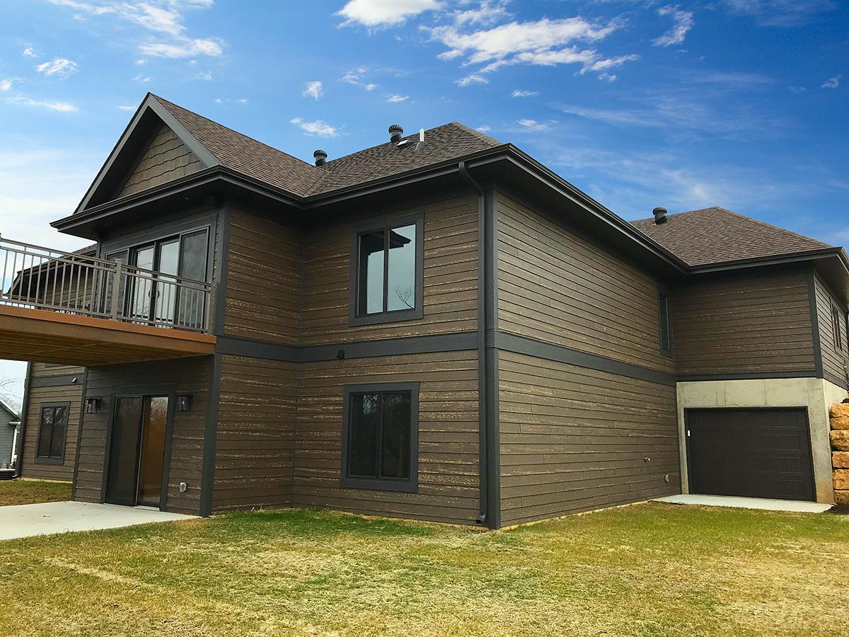 Craftsman, Ranch House Plan 75470 with 4 Beds, 3 Baths, 3 Car Garage Rear Elevation