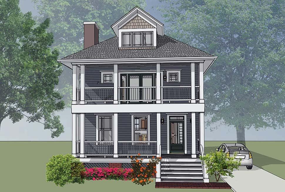 House Plan 75501
