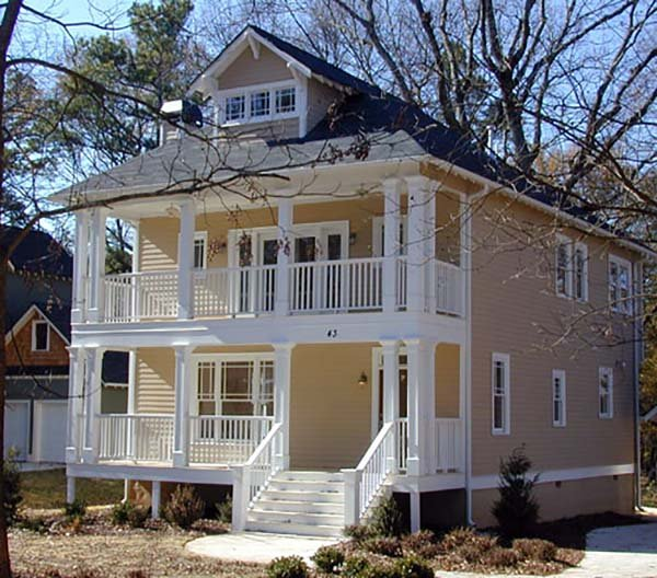 Colonial, Southern House Plan 75501 with 3 Beds, 3 Baths Picture 4