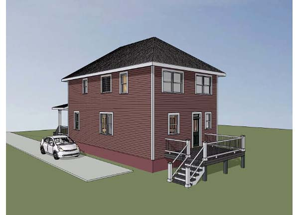 Colonial, Southern House Plan 75503 with 3 Beds, 3 Baths Picture 1