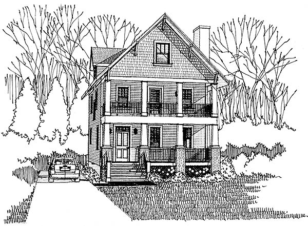 Bungalow, Craftsman House Plan 75506 with 3 Beds, 3 Baths Picture 8
