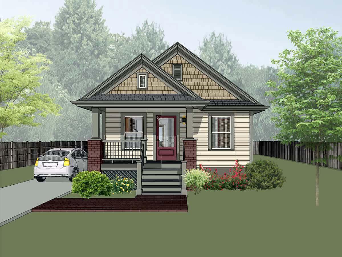 House Plan 75511
