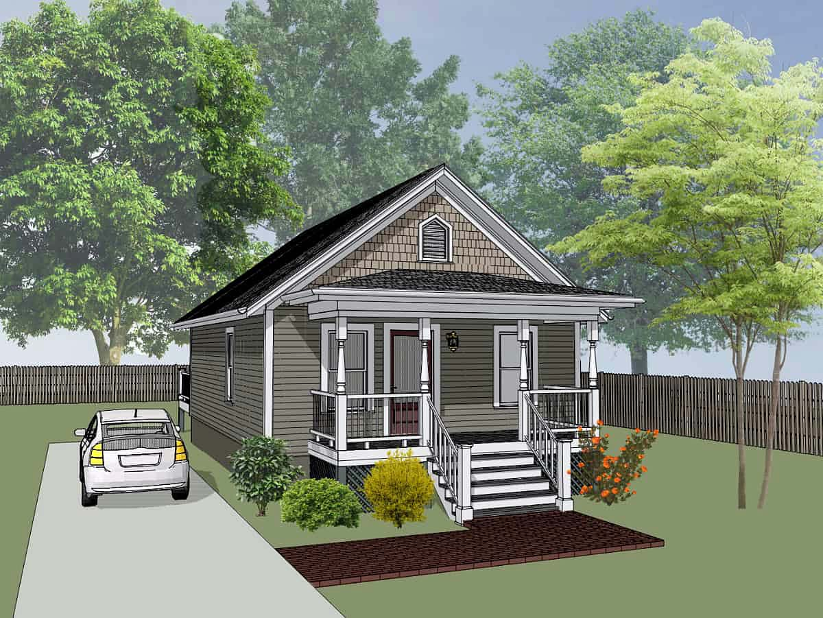 House Plan 75512