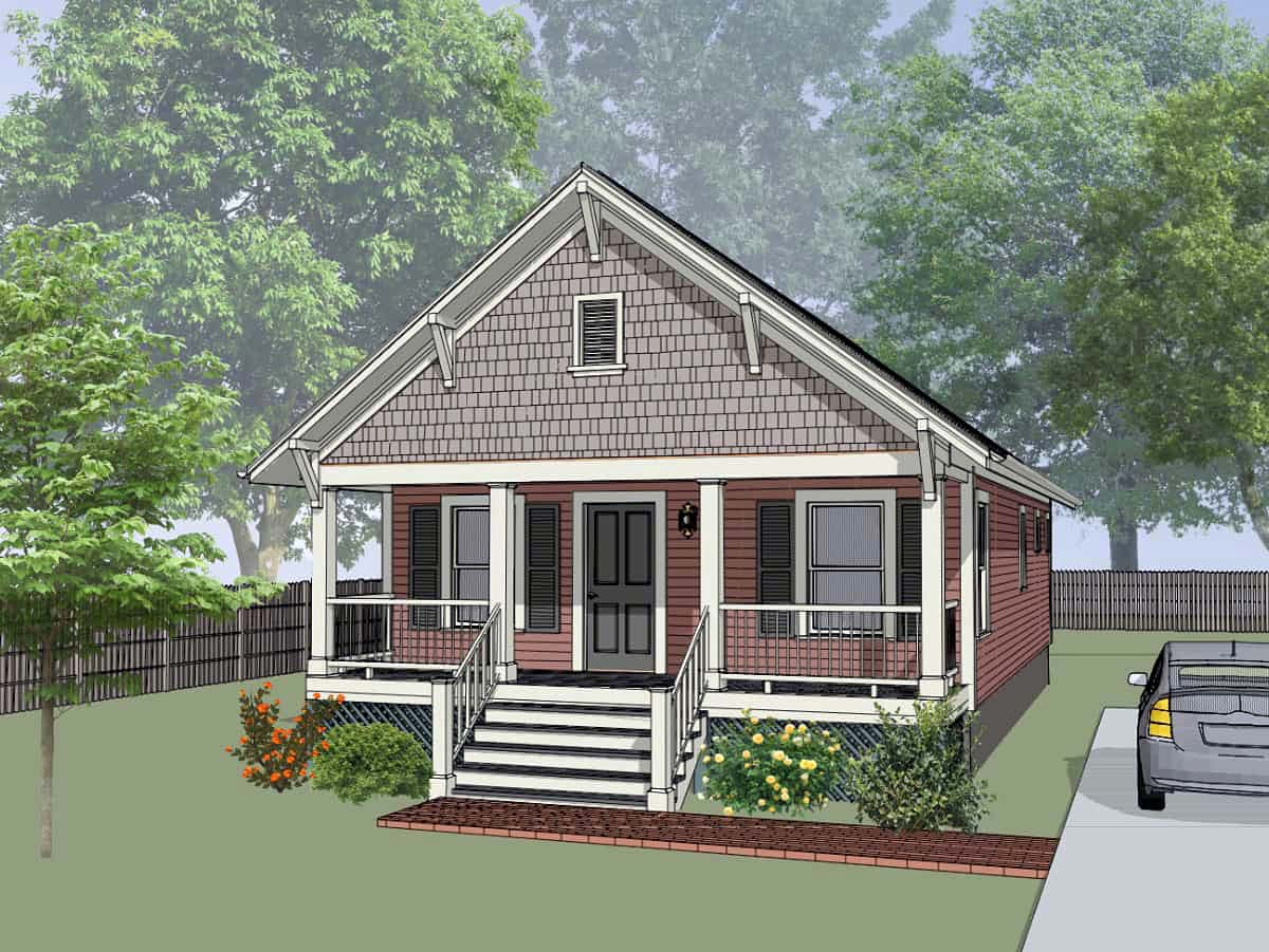 House Plan 75516