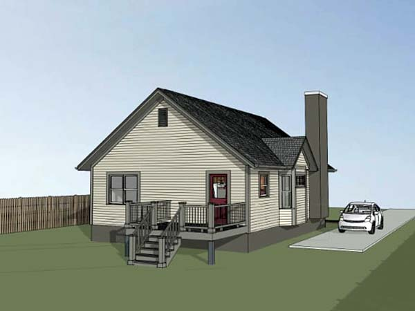 Bungalow House Plan 75524 with 2 Beds, 2 Baths Picture 1