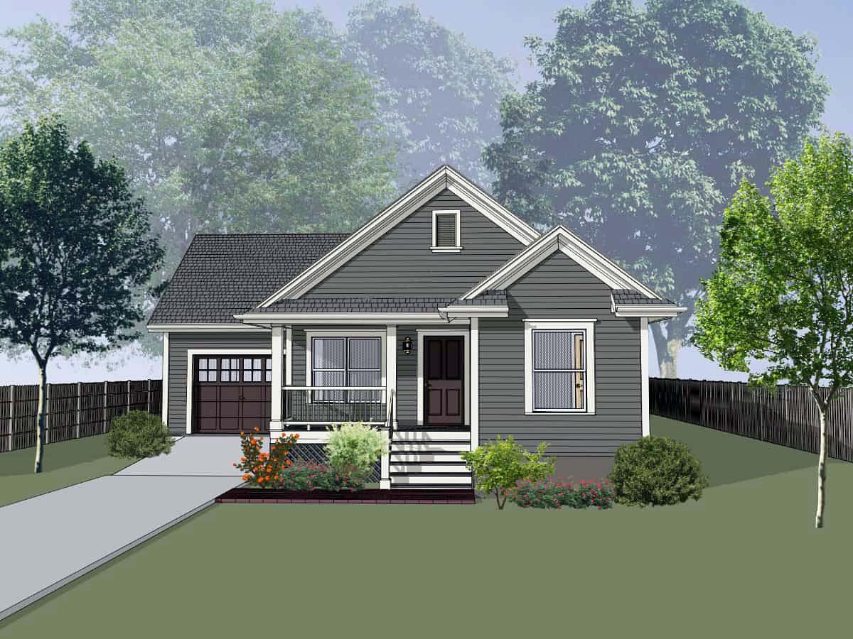 House Plan 75530