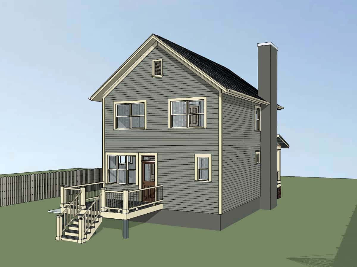 Colonial, Southern House Plan 75540 with 3 Beds, 3 Baths Picture 2