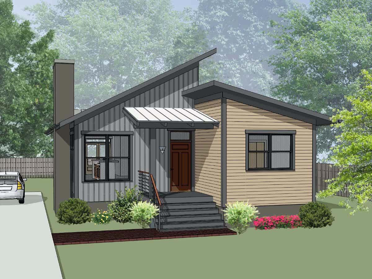 House Plan 75550