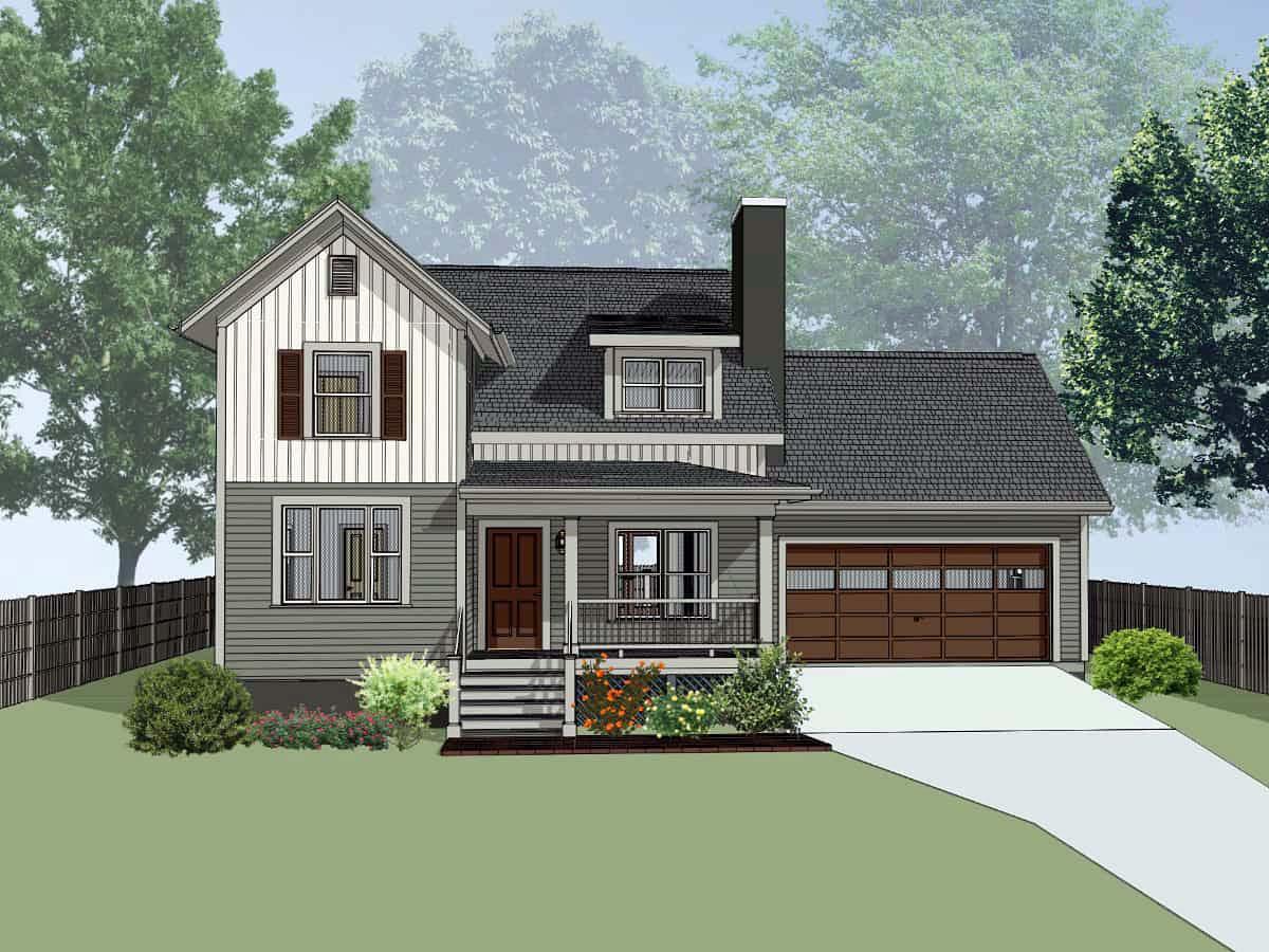 House Plan 75559