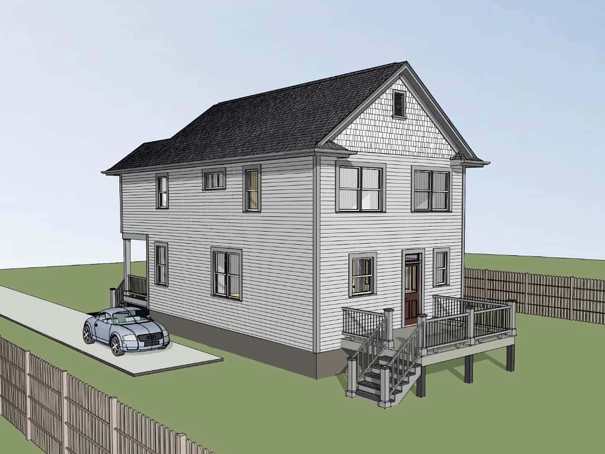 Colonial, Country, Southern House Plan 75575 with 3 Beds, 3 Baths Picture 1