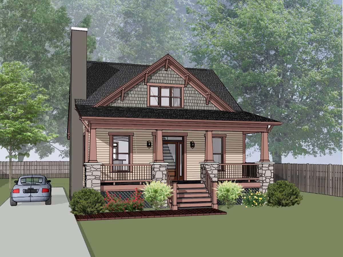 House Plan 75576