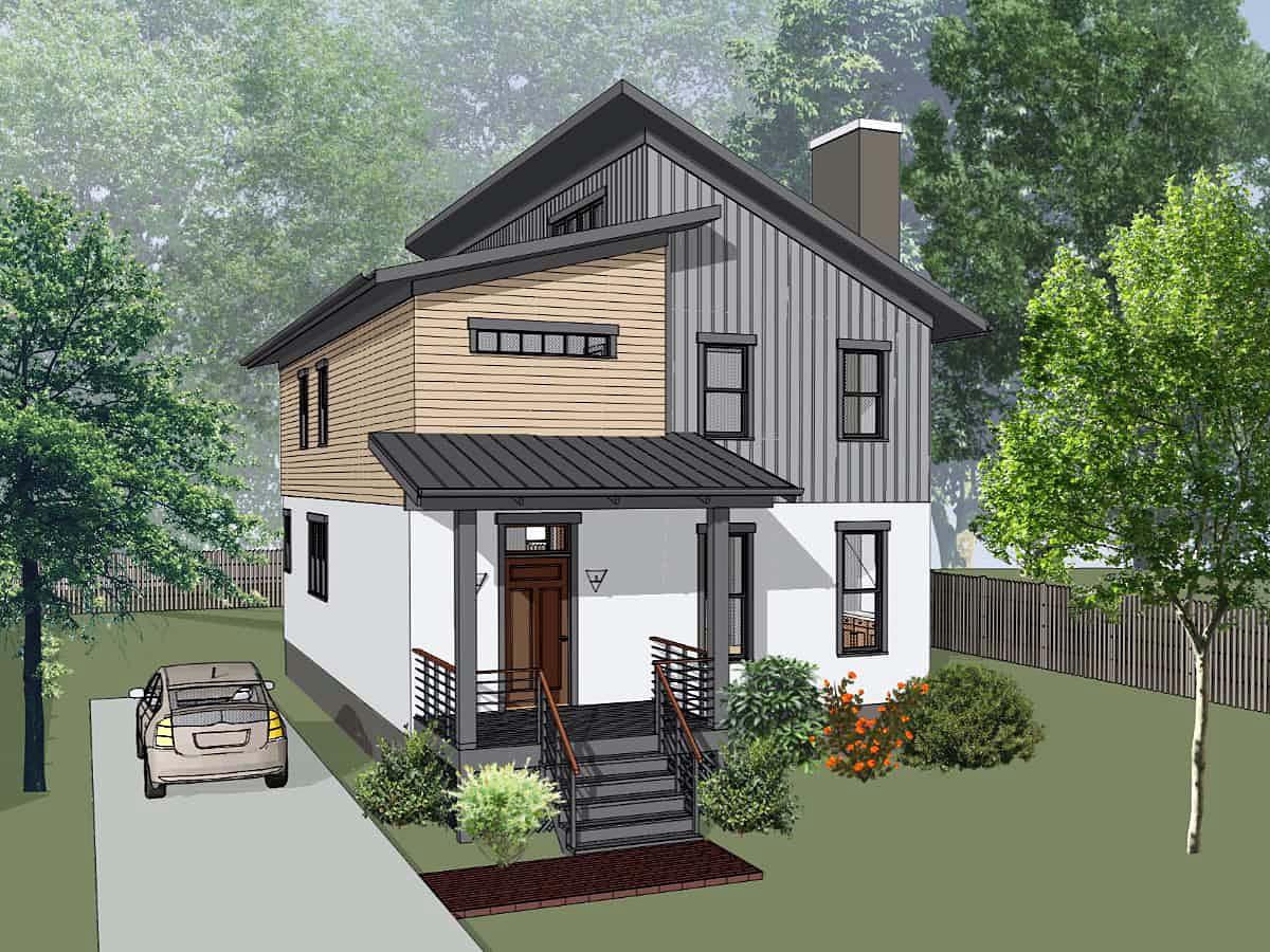 House Plan 75598